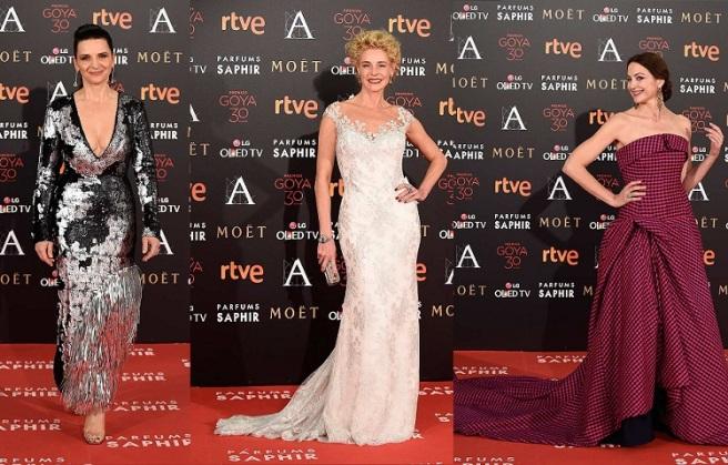 Las peores vestidas de los Goya 2016 (2)