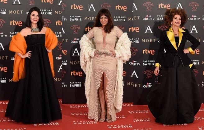 Las peores vestidas de los Goya 2016